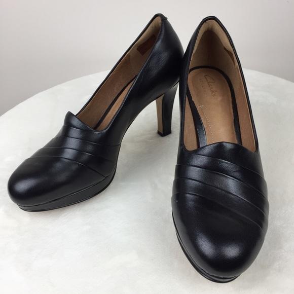 7d8f1c447954 Clarks Shoes - Clark s Artisan Delsie Joy Platform Pumps Black 7